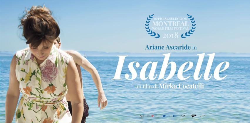 ISABELLE in anteprima mondiale al Montreal World Film Festival